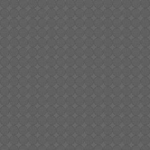 gray medium tiny striped circles