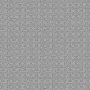 gray tiny striped circles