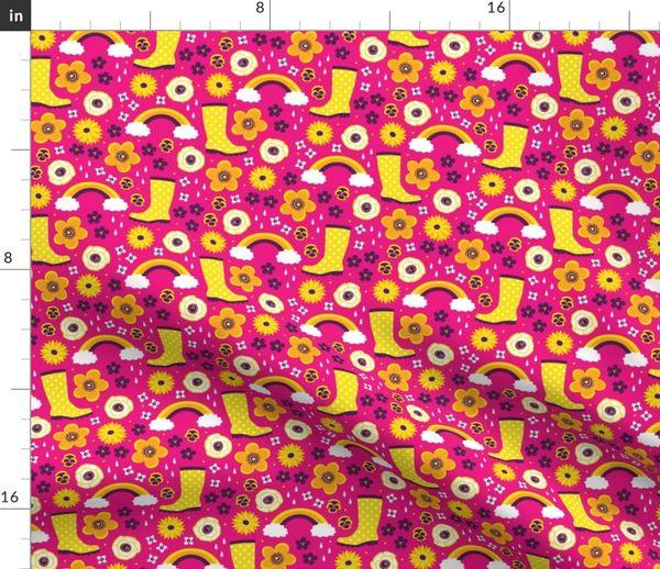 Tischdecken Wolke Tischdecke Sonne Und Regenbogen Blumen Waschbar Mobel Wohnen Djmall Co Il
