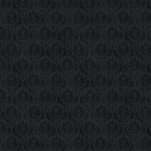 damask noir petit