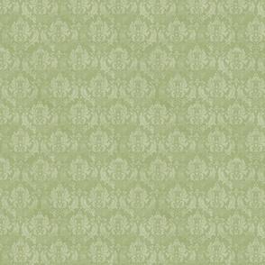 damask vert petit