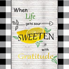 Sweeten Life 2 Yard Print