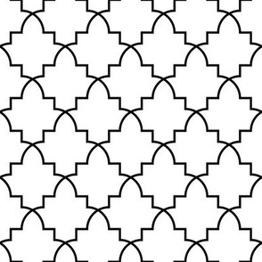 08717163 : archtile1x : outline