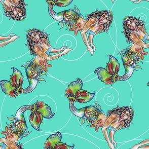 Island Mermaid Aqua