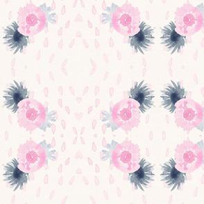 Floral Pink Rain