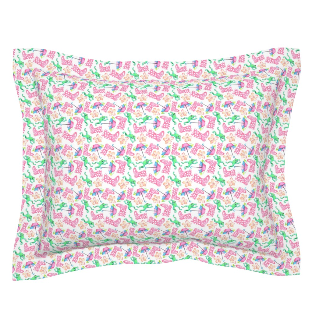 Sebright Pillow Sham featuring dreaming of rainy days by pixiesandlynn