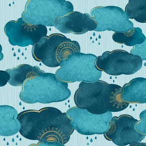 Gilded Clouds and Hidden Suns Large Scale ©Jennifer Garrett