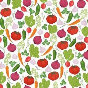 Vegetable Garden Bounty