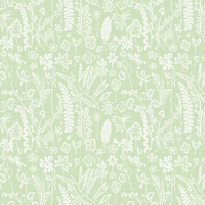 Collectors Garden Mint Linen sm