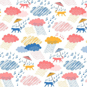 Leopards Singing in the Rain