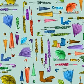 Wellies & Umbrellas