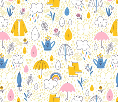 Rainy spring pattern