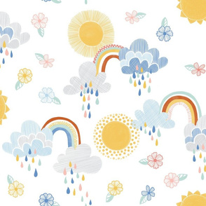 April Showers Bring May Flowers by Angel Gerardo