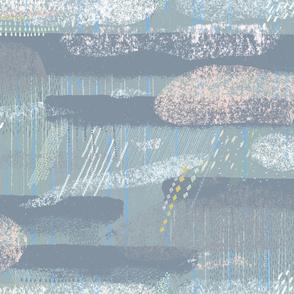 Rainy Day M+M Slate by Friztin