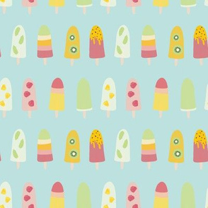 Popsicle/Ice Lolly/Ice Cream Summer Pattern