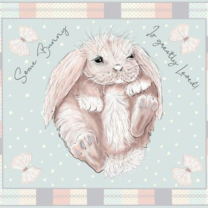 Some Bunny is Greatly Loved-Play Mat
