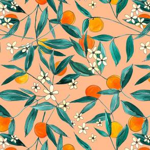 Orange Summer Peach