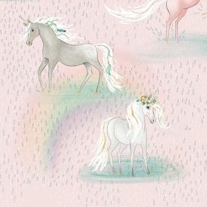 unicorn bliss: rain in april