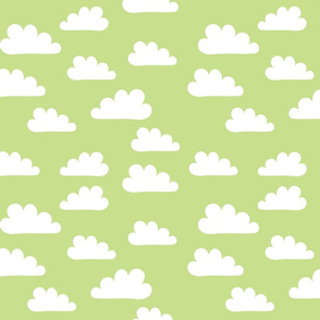 Clouds on Green