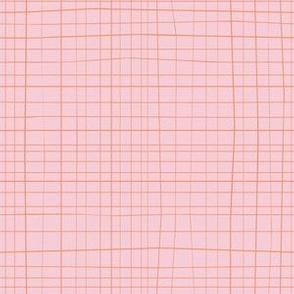 Cross Hatch repeat Pink