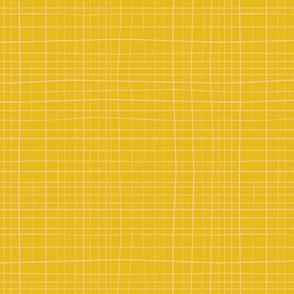 Cross Hatch repeat yellow