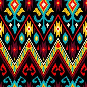 native american embroidered diamond