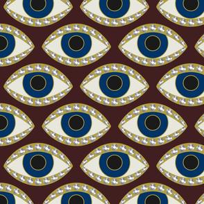 Eye Diamond Ring sm: Mars Red