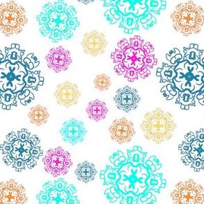 Boho Snowflakes