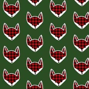 Evergreen Fox Buffalo Check