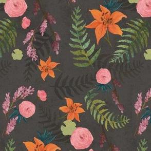 Dark Tiger Lily Jungle
