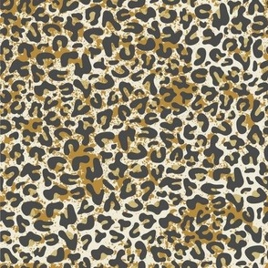 Leopard // yellow