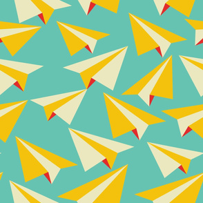 Paper Flight - Jumbo Scale