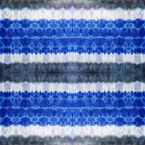 Tie-Dye  Indigo blue grey lilac tie dye seamless pattern