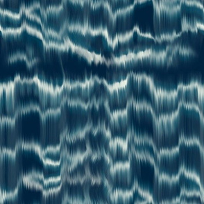 Shibori inspired tie-dye waves