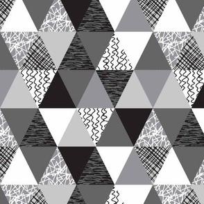 Triangles - Desaturated - Small