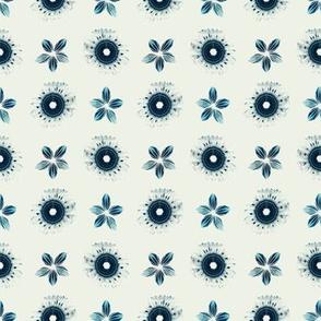 SHIBORI INSPIRED flowers