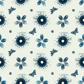 SHIBORI INSPIRED floral