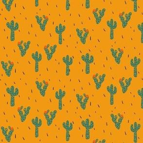 Cactus in Yellow