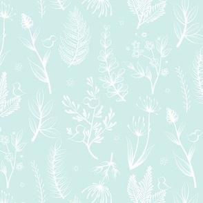 Botanical White Mint
