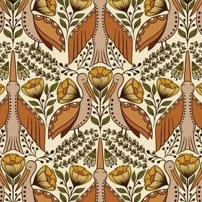 Wildlife 8 Inches fabric, Gray Green, bear deer eagle fox