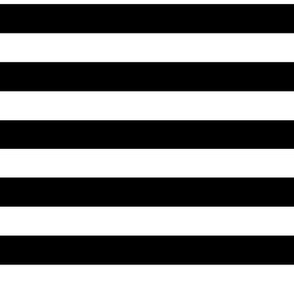 2cm black and white stripes horizontal