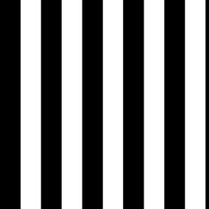 2cm black and white stripes vertical