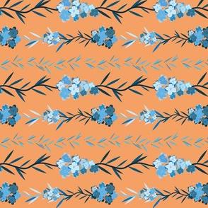 Forget me not pattern horizontal 2