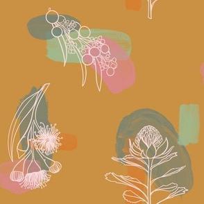 Australian Flora - Gold