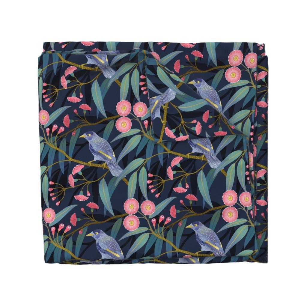 Wyandotte Duvet Cover featuring Eucalyptus flowers by julia_gosteva