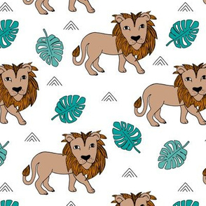 King of the jungle kids wild jungle summer blue orange