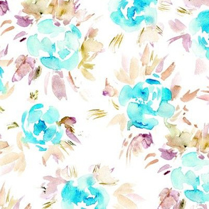 Watercolor   flowers || painted florals