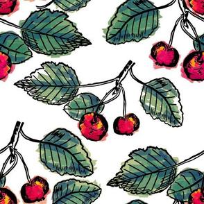 Chic Cherry Pattern
