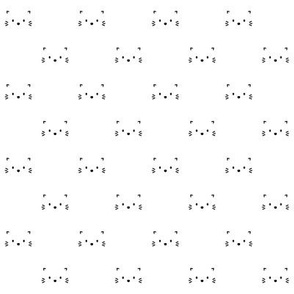 kitty faces minimal black and white :: cats n' kittens