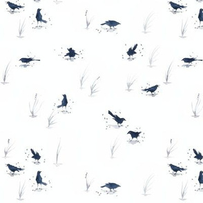 Grackles (tiny)